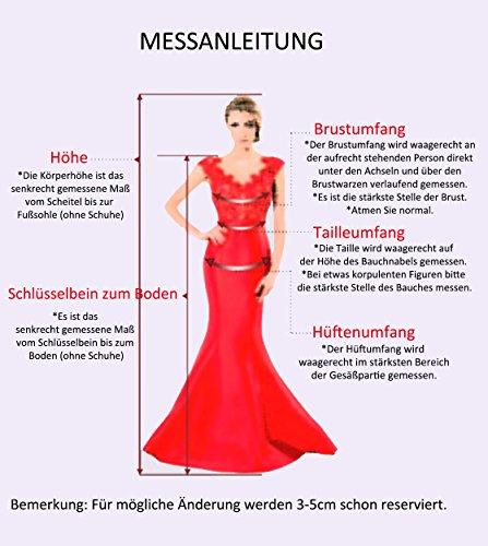 Ballkleider HUINI Chiffon Linie Spitze V Ausschnitt Silber Brautjungfernkleider Hochzeit Cocktailkleider Kurz Kleider A Abendkleider IEarxaYq