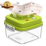 food storage container vacuum - Food Storage Container with Vacuum Sealed Airtight Lid - Vacumaster Quick Marinator Leak Proof BPA Free Pumpable Press Type Fresh Keeper (0.5 Quart)