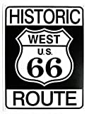 Historic Route 66 Tin Sign 13 x 16in
