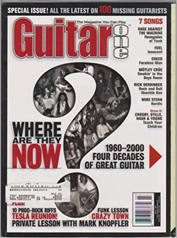 Guitar One Magazine (March 2001) (Where Are They Now? 1960-2000 Four Decades of Great Guitar): Jeff Schroedl: Amazon.com: Books