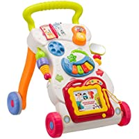 Dream World Children Music Walker with Music Piano, Mini Phone and Learning Case