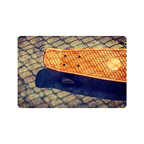 Special Design Custom 180 skateboard Personalized Non-Slip Machine Washable Bathroom Indoor/Outdoor Doormat 23.6 by 15.7 Inch