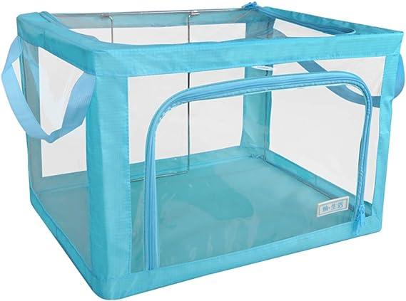 Caja de almacenaje Plegable contenedores contenedor, Ventana ...