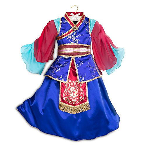 Disney Mulan Deluxe Costume for Kids Size 9/10 Multi428417795515 -