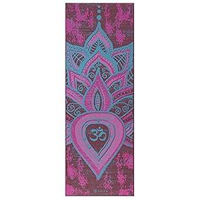 Gaiam Print Premium Reversible Yoga Mats