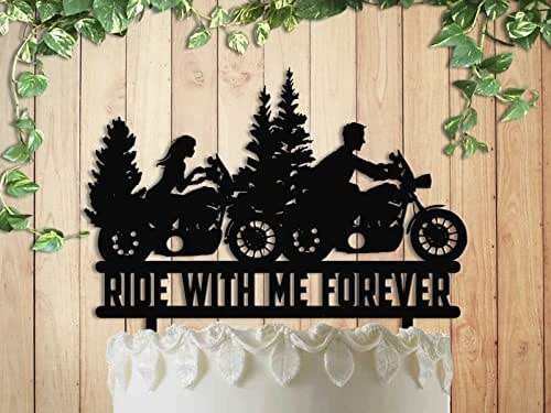 Amazon.com: Motorcycle Ride With Me Forever Biker