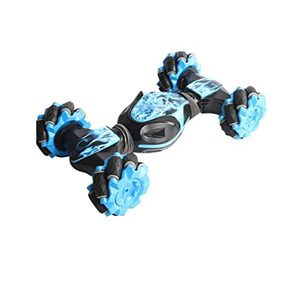 Elevin(TM)???????? Xmas Stunt RC Car Climbing Off-Road Twisting VehicleDrift Car Driving Toy Gifts (Blue): Toys & Games