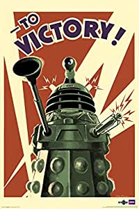 Doctor Who Dalek To Victory TV Poster- 24x36