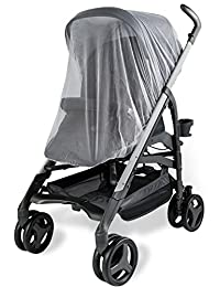 Baby Mosquito Net for Strollers, Carriers, Car Seats, Cradles. Fits Most PacknPlays, Cribs, Bassinets & Playpens. 44 x 48 Inch, Made of White, Portable & Durable Baby Insect Netting BOBEBE Online Baby Store From New York to Miami and Los Angeles