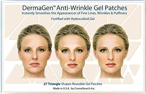 DermaGen Anti-Wrinkle Patches with Hydrocolloid Gel (Triangle)
