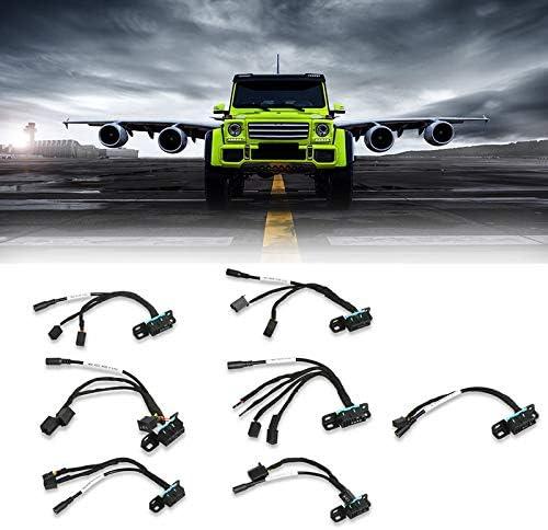 Nrpfell Cables de L/íNea de Prueba EIS//ELV para Coche de 7 Piezas para Mercedes W202 W210 W220 W639 W906 Funciona con la Herramienta VVDI MB