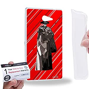 Case88 [Sony Xperia M2] Gel TPU Carcasa/Funda & Tarjeta de garantía - Art Teen Personalities Tonight We Are Young C 2600