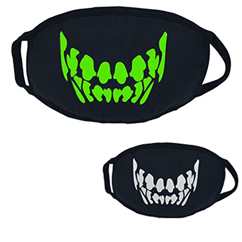Danhjin Cool Luxury Led Mask Halloween Costumes Party Mask Best Light Up Toys for Festival -