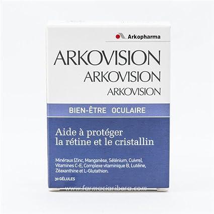 ARKO - ARKOPHARMA Arkovisión Bienestar Ocular 30 cápsulas