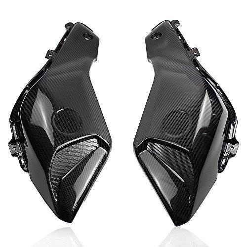 Motorcycle Carbon Fiber Upper Side Air Intake Ram Scoop Panel Fairing For 2014-2017 Yamaha FZ07 MT07 FZ-07 MT-07 2015 -