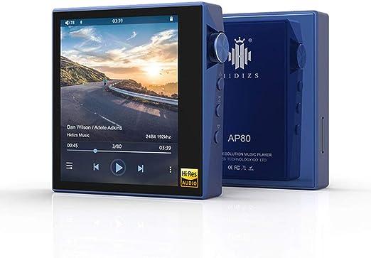 AP80 Hi-Res ES9218P Bluetooth HiFi Reproductor De Música MP3 LDAC ...