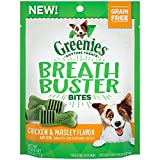 Cheap Greenies Breath Buster Bites Chicken & Parsley Flavor Treats For Dogs 2.5 Ounces (Pack Of 6)