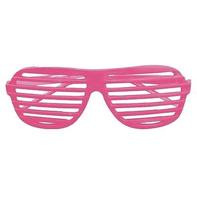 Forum Novelties Unisex Slot Glasses, Neon Pink: Toys & Games