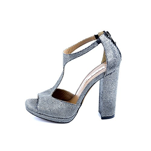 Tiffi , Sandales pour femme gris gris