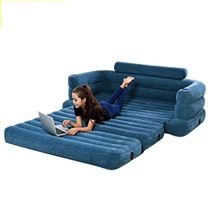 Swell Amazon Com Double Air Bed Multi Function Portable Sofa Bed Creativecarmelina Interior Chair Design Creativecarmelinacom