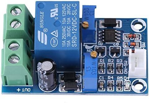 Relais Module Modul,Acogedor 12V LED Digitalanzeige einstellbarer Zeitverzögerung Modul,Geeignet zum Verhindern übermäßiger Batterieentladung und Verlängerung der Batterielebensdauer