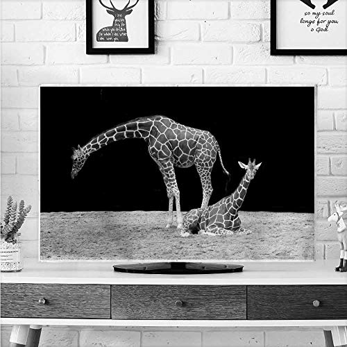 - aolankaili Protect Your TV A Long Leg of Giraffe Protect Your TV W30 x H50 INCH/TV 52