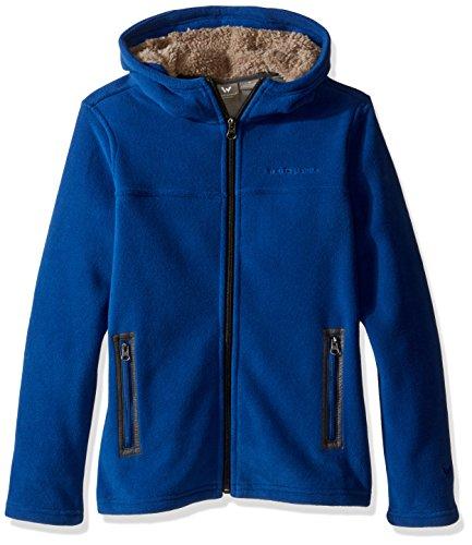 White Sierra Mountain Hooded Fleece product image