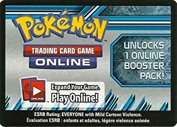 Pokemon Trading Card Game Sun /& Moon Guardians Rising Online Code Card x5