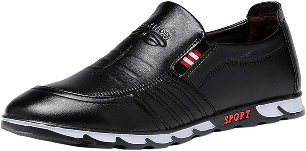 Anzugschuhe Oxford f/ür Herren//Skxinn Herrenschuhe usiness Casual Lackleder Sneaker Hochzeit Slip on Atmungsaktiv Halbschuhe Ausverkauf