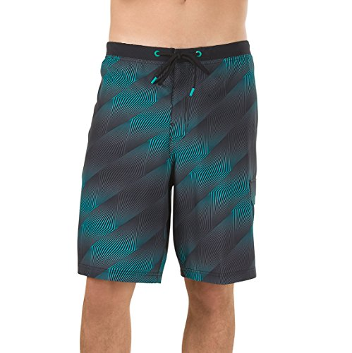 Speedo Mens Swim Trunk Knee Length Boardshort Printed - Manufacturer Discontinued