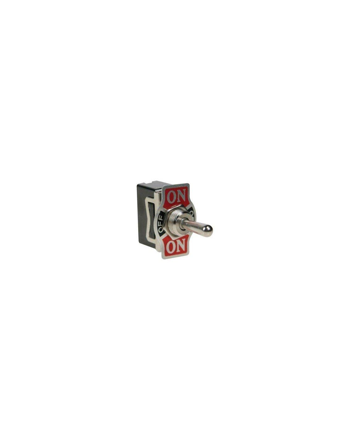 Perel 143202SPDT Interrupteur à bascule, 1p (on) Off (on)