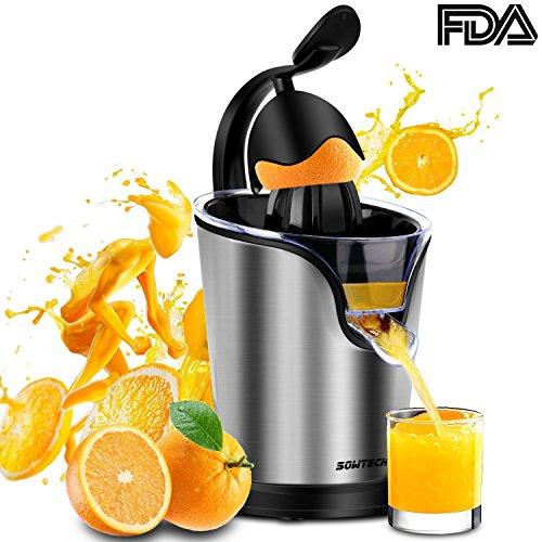 Sowtech Electric Citrus Juicer Squeezer Anti-drip Citrus Press Only $29.99 (Was $70)