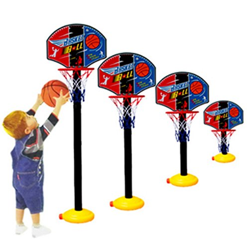 [Funny Mini Toilet Bathroom Desk Home Basketball Fans Game Set Portable BasketBall Hoop Toy For NBA All Ages Fans Best] (Little Boy Football Player Costume)