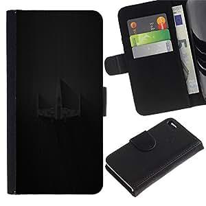 All Phone Most Case / Oferta Especial Cáscara Funda de cuero Monedero Cubierta de proteccion Caso / Wallet Case for Apple Iphone 4 / 4S // X Wing