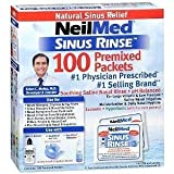 NeilMed Sinus Rinse Regular Refill Packets 100 ea