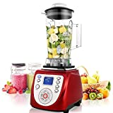 Lantusi 2000W 30500RPM Professional Smoothie Blender with 6...