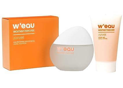 Fragancia WEAU Eau de Toilette + gel de ducha para mujer Secret Sunset