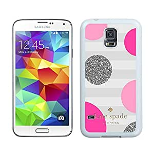 Samsung Galaxy S5 Case,2015 Hot New Fashion Stylish Kate Spade 56 White Case Cover for Samsung Galaxy S5 i9600