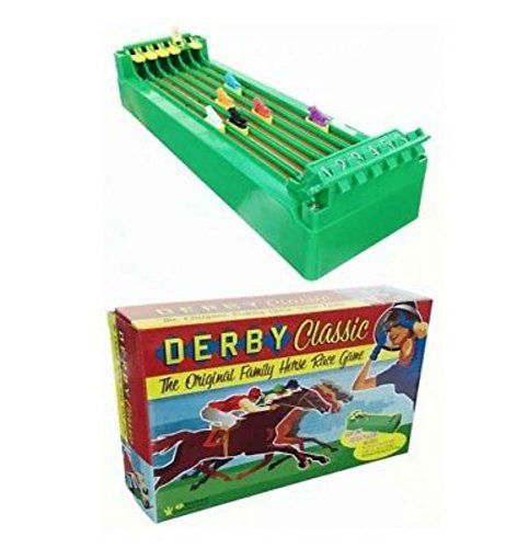 Derby Classic Horse Racing Game Battery Operated -