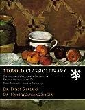 img - for Die Kultur des Modernen England in Einzeldarstellungen. Der Prae-Raphaelitismus in England (German Edition) book / textbook / text book