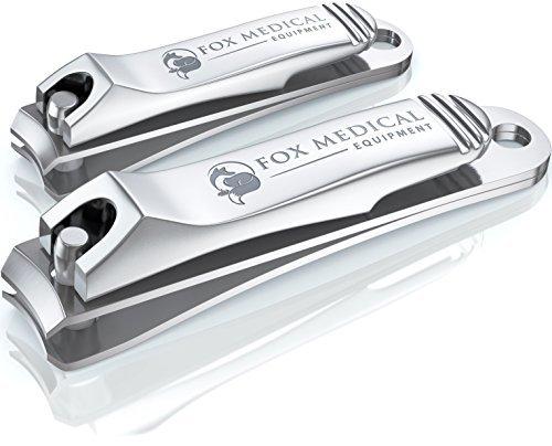 Surgical Grade Stainless Steel Toenail/Fingernail Clipper/Nail Nipper Set