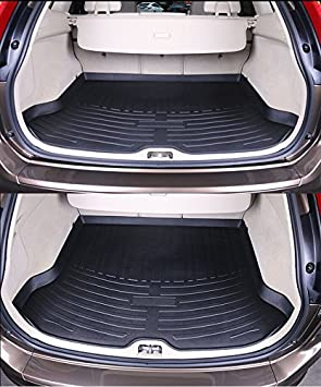 Perfect Fit Black Carpet Car Mats Set for Volvo XC60 AUTOMATIC 2008-2017