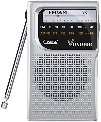 Battery Operated Portable Pocket Radio product image