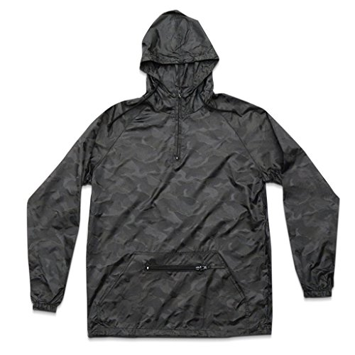 Cheap Streetwear Official Men's Reflective Camo Windbreaker supplier