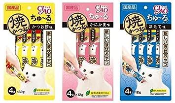 Amazon.com: Ciao Churu CatFood - Bocadillos para gatos, 11 ...
