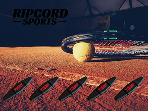 Tennis Vibration Dampener (5 Pack) – Tennis Racquet Shock Absorber - Weather Resistant and Suitable for nearly all Racket Sizes