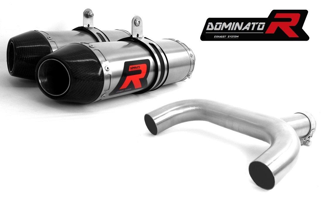 Exhaust Dominator silenziatore di scarico TONDO per GSR 600 06-09 DB KILLER