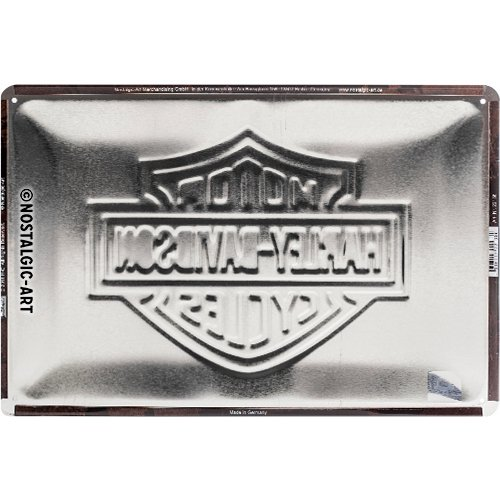 604812036ced66 Amazon.de: Nostalgic-Art 14227 Harley-Davidson - Logo, Magnet 8x6 cm