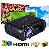 Original X7 Mini Projector Full Hd 1080P Video LED Projector 1800Lumens Hdmi Home Theater LED TV Beamer Multimedia USB Projector