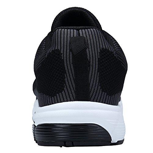 Y Mujer Deportes Zapatos Montaña De Asfalto En Aire Running Libre Xkmon Padel Zapatillas Negro1 Correr Para vdYARwq